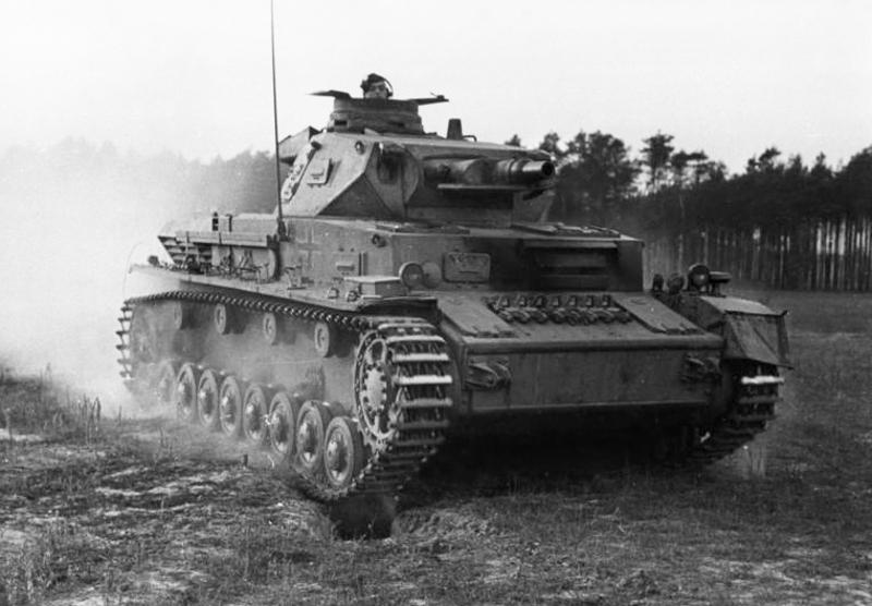 Средний танк PzKpfw IV Ausf F1