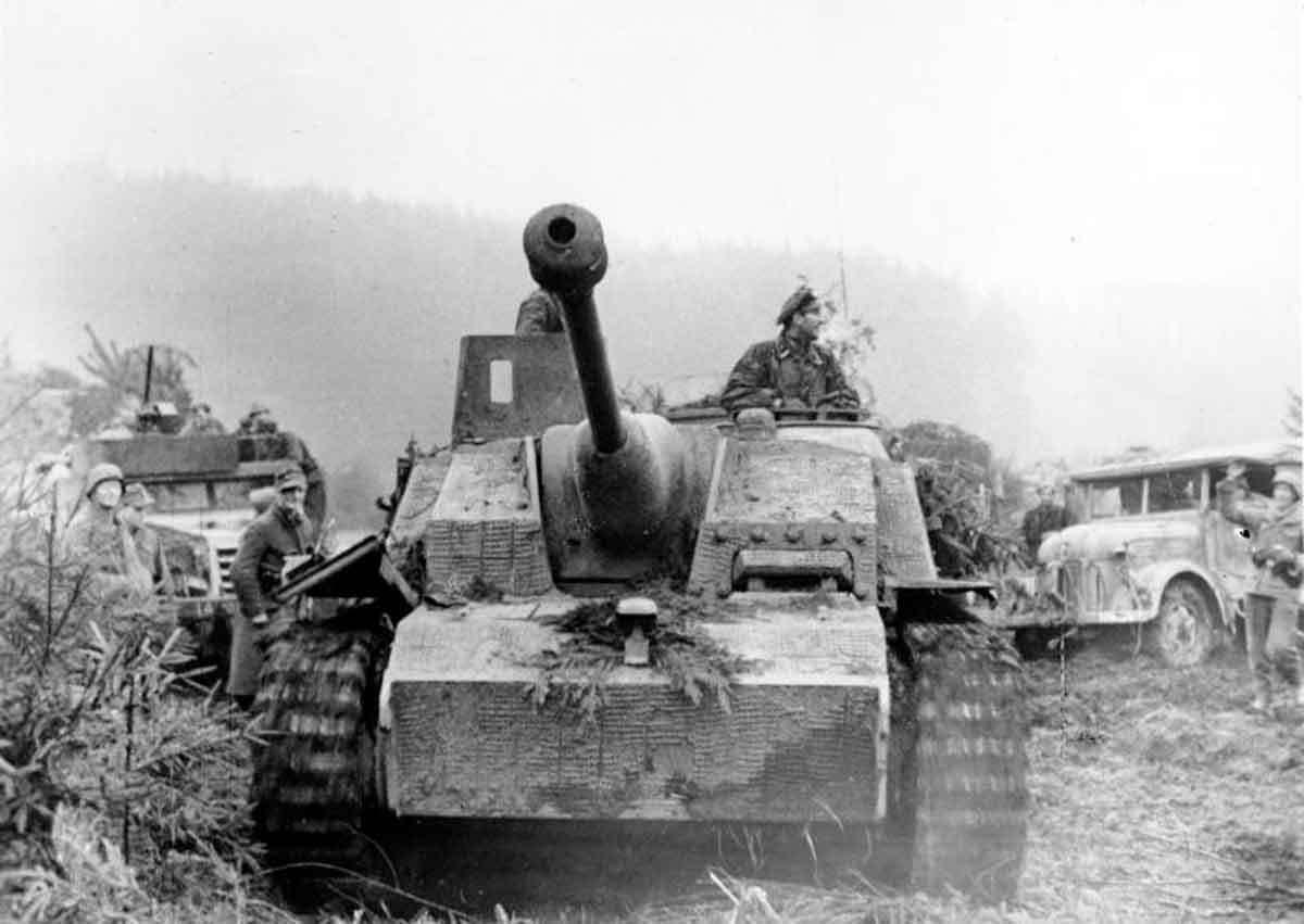 Наступление немецких войск в Арденнах