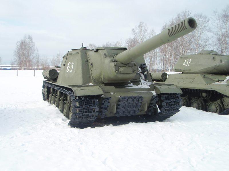 САУ ИСУ-152 - «Зверобой» на базе танка ИС