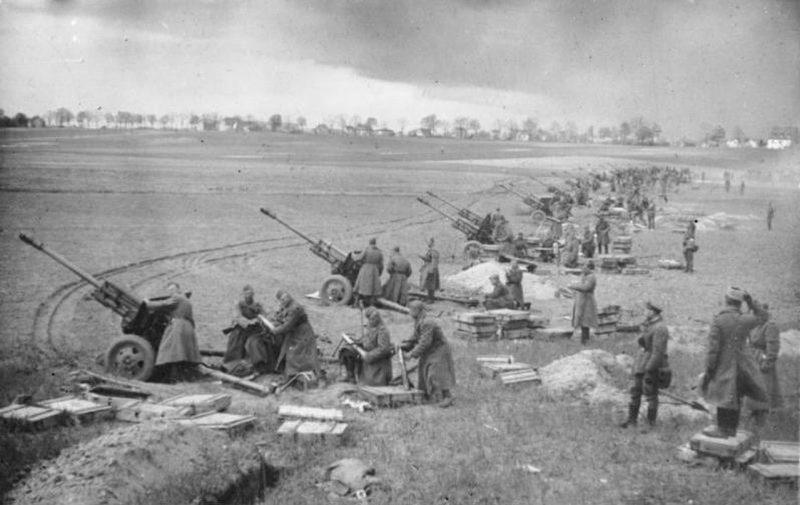 Общий ход военных действий в Европе в 1944–1945 гг.