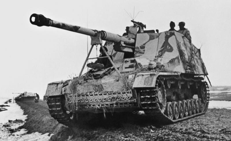 Истребительно-противотанковая САУ SdKfz 164 «Насхорн»