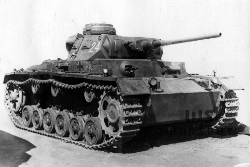 Средний танк PzKpfw III Ausf J (специальный)