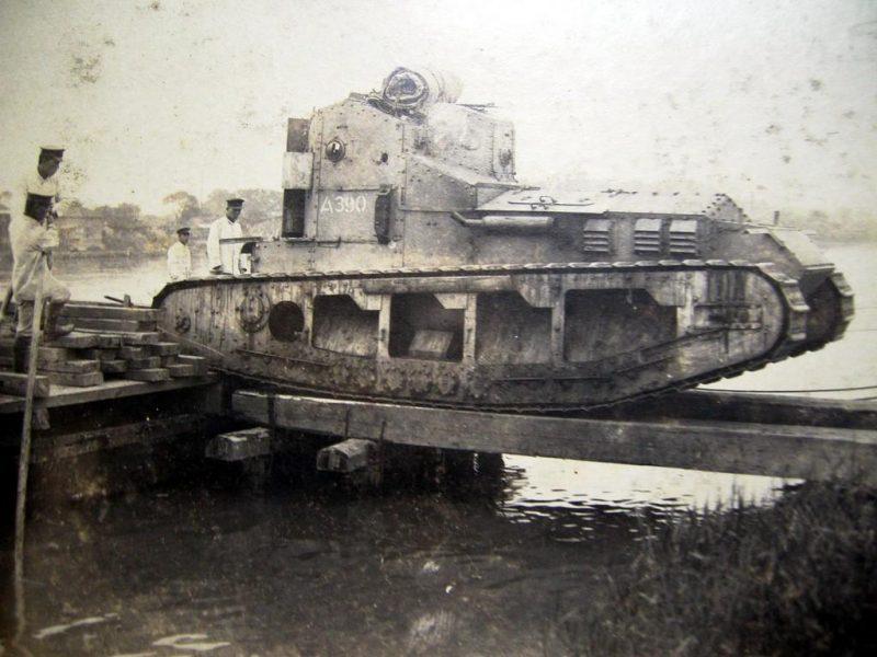 Средний танк Мк А «Уиппет» - британская «борзая»