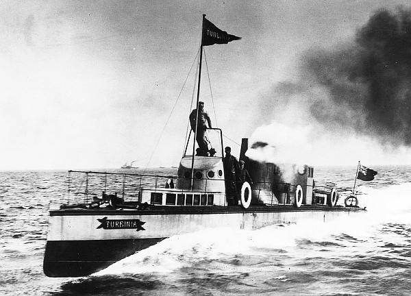 Паротурбинные установки на кораблях - движение и действие