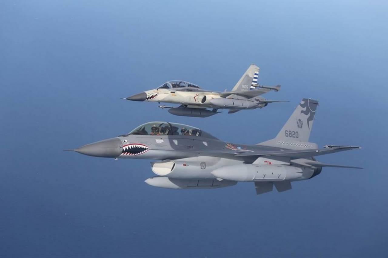 Военно-воздушные силы Тайваня - ВВС «другого» Китая