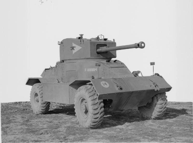 Бронемашина АЕС Mk III