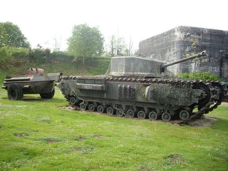 Огнеметный танк Mk VII «Черчилль Крокодил»