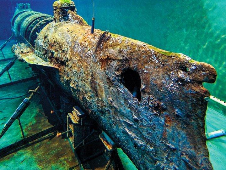 Силовые установки первых субмарин