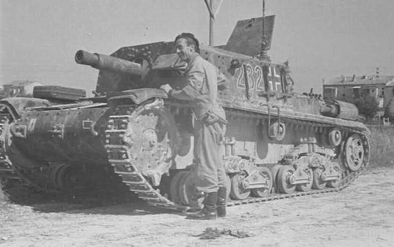 Штурмовое орудие DA 75/18 «Семовенте»