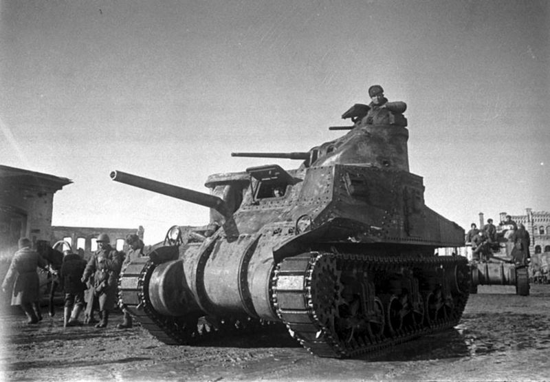 Средний танк М3 «Ли»
