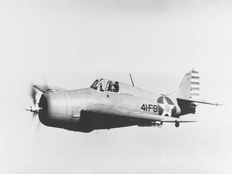 Палубные истребители Грумман F4F-4 «Уайлдкэт»