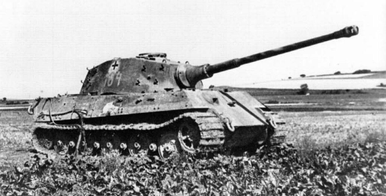 Тяжелый танк PzKpfw VI «Королевский Тигр»