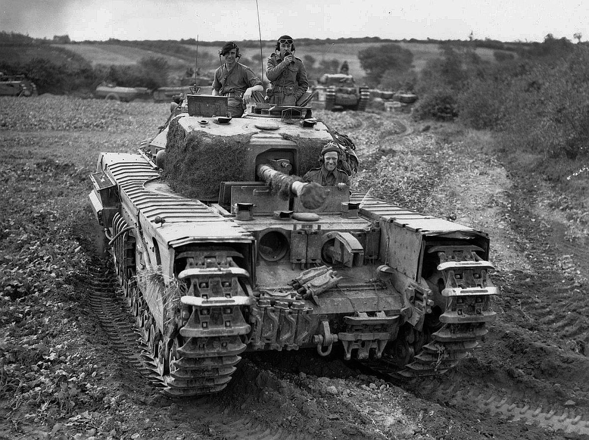 Пехотный танк «Черчилль» IV Mk IV