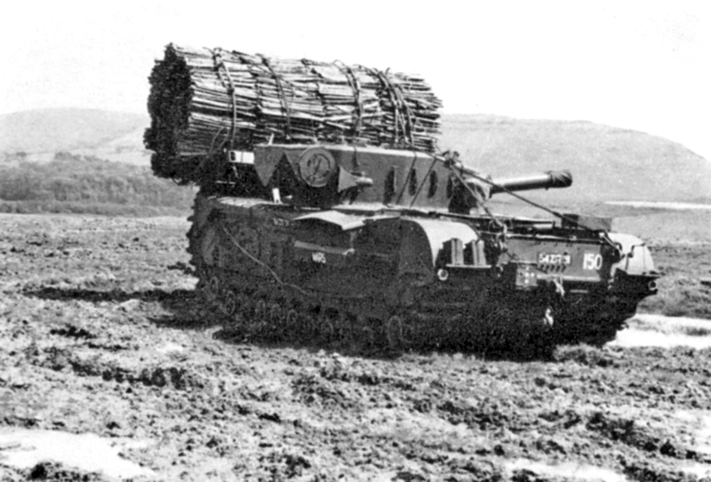 Штурмовой танк «Черчилль» AVRE