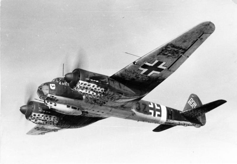 Юнкерс Ju 88 - многоцелевой самолёт люфтваффе