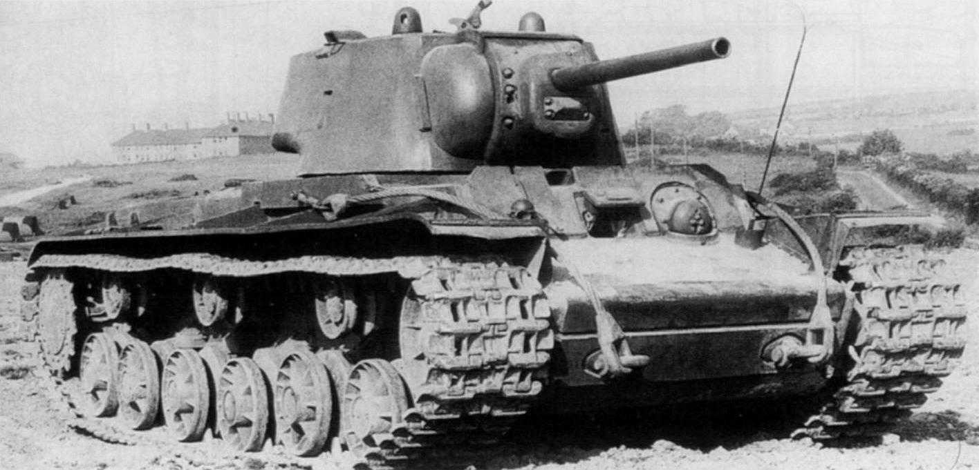 Тяжелый танк КВ-1А