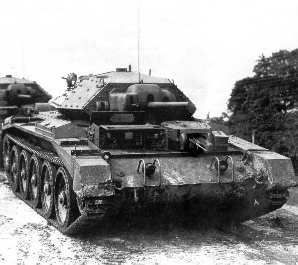 Крейсерский танк «Крусейдер I» Mk VI I