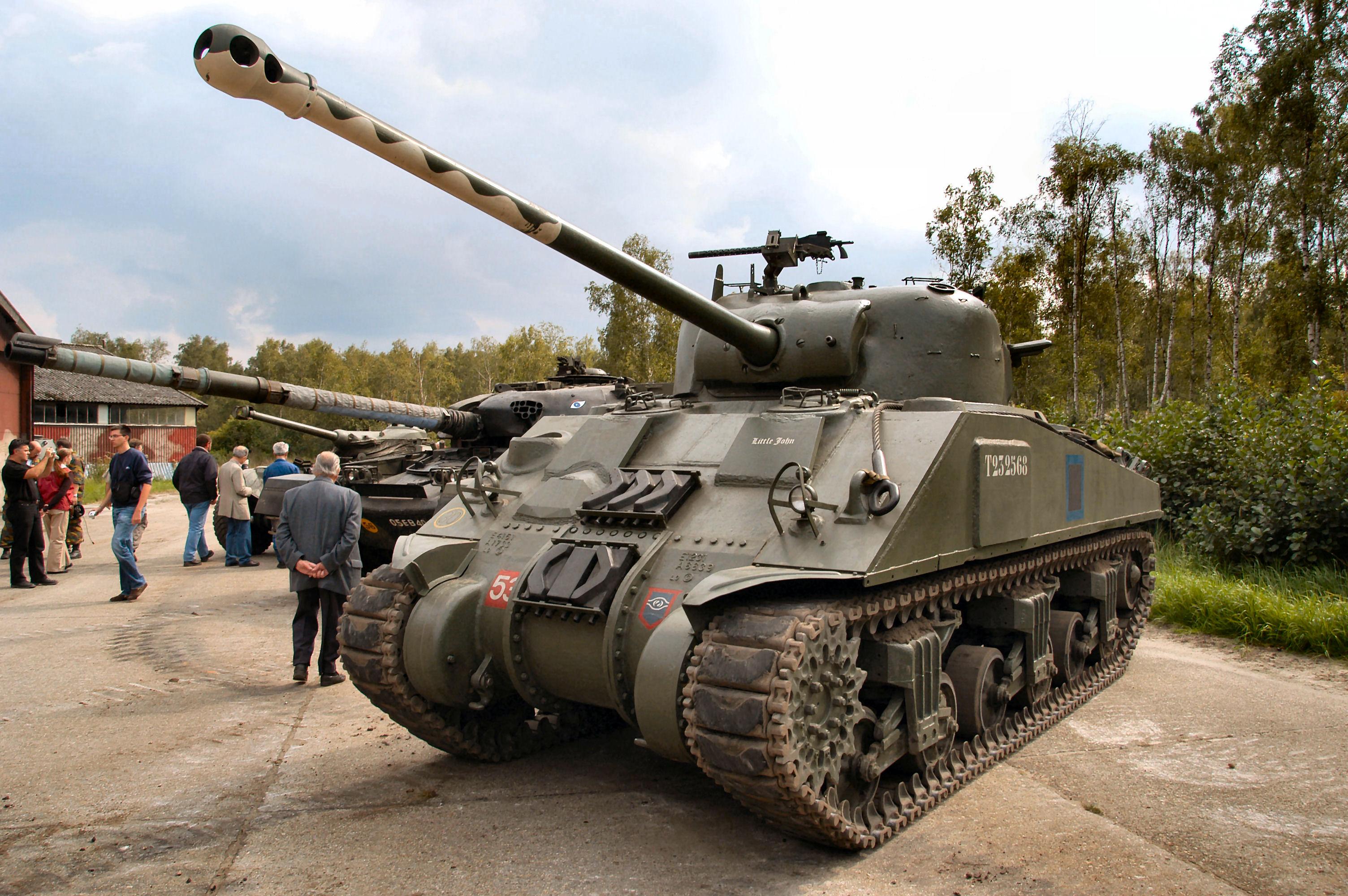 Средний танк М4А4 «Шерман VC Файрфлай»