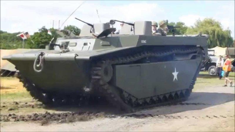 Гусеничное десантное судно LVT-4