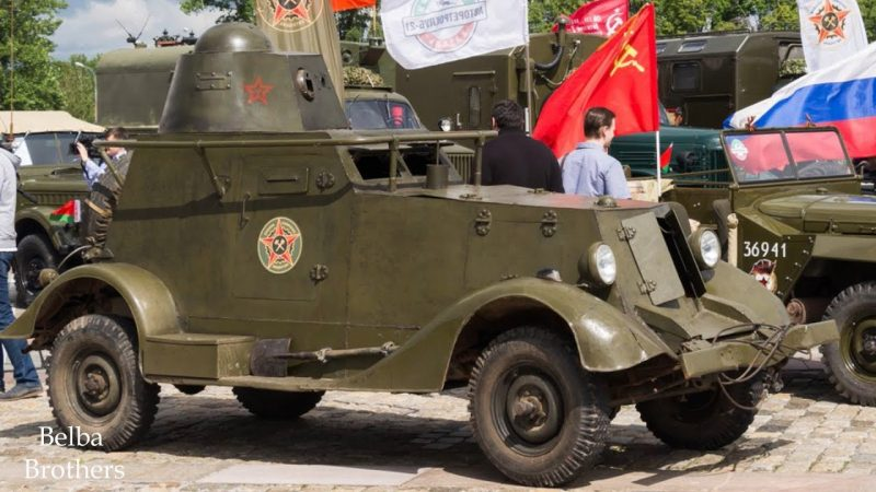 Бронеавтомобиль БА-20 - на базе «эмки»