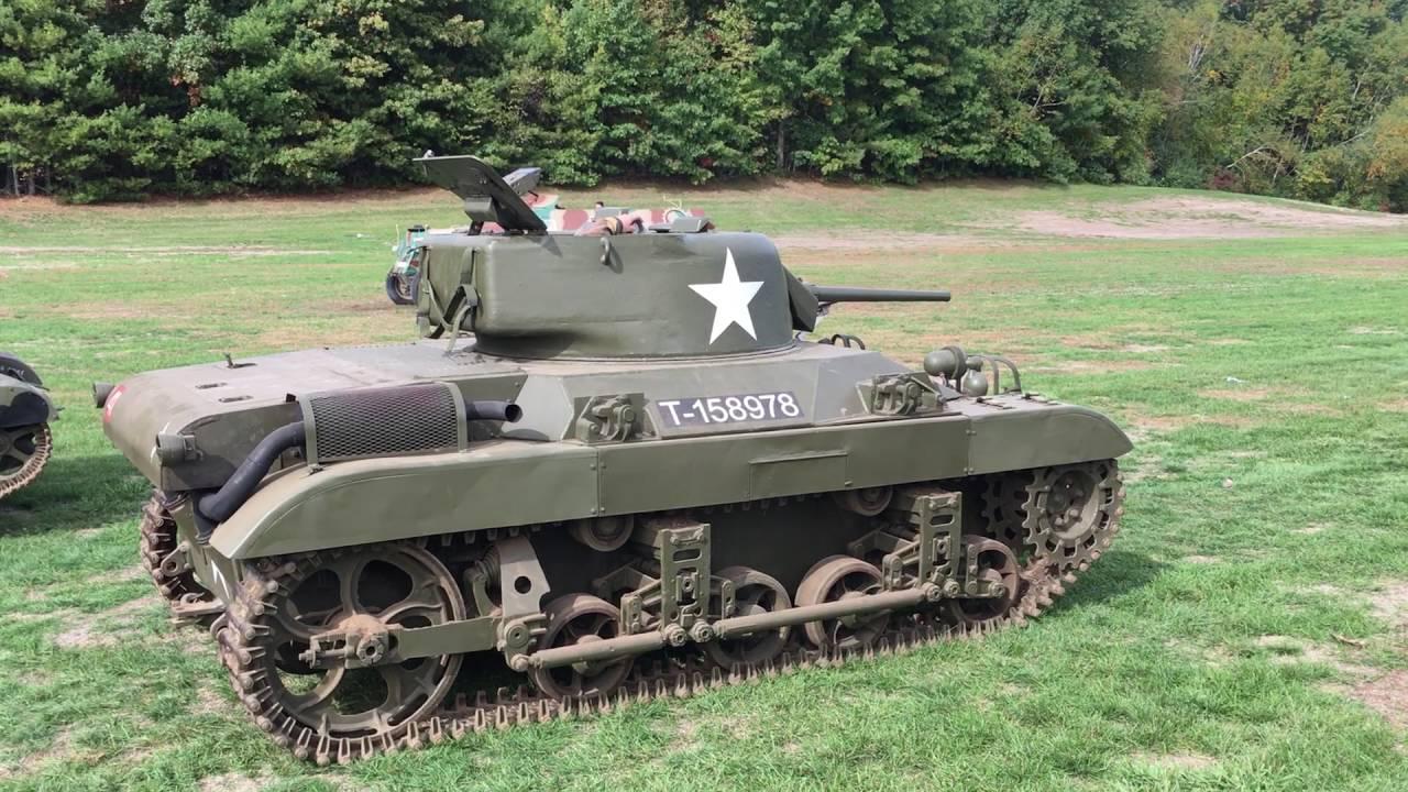 Легкий танк (десантный) М22 «Локаст»