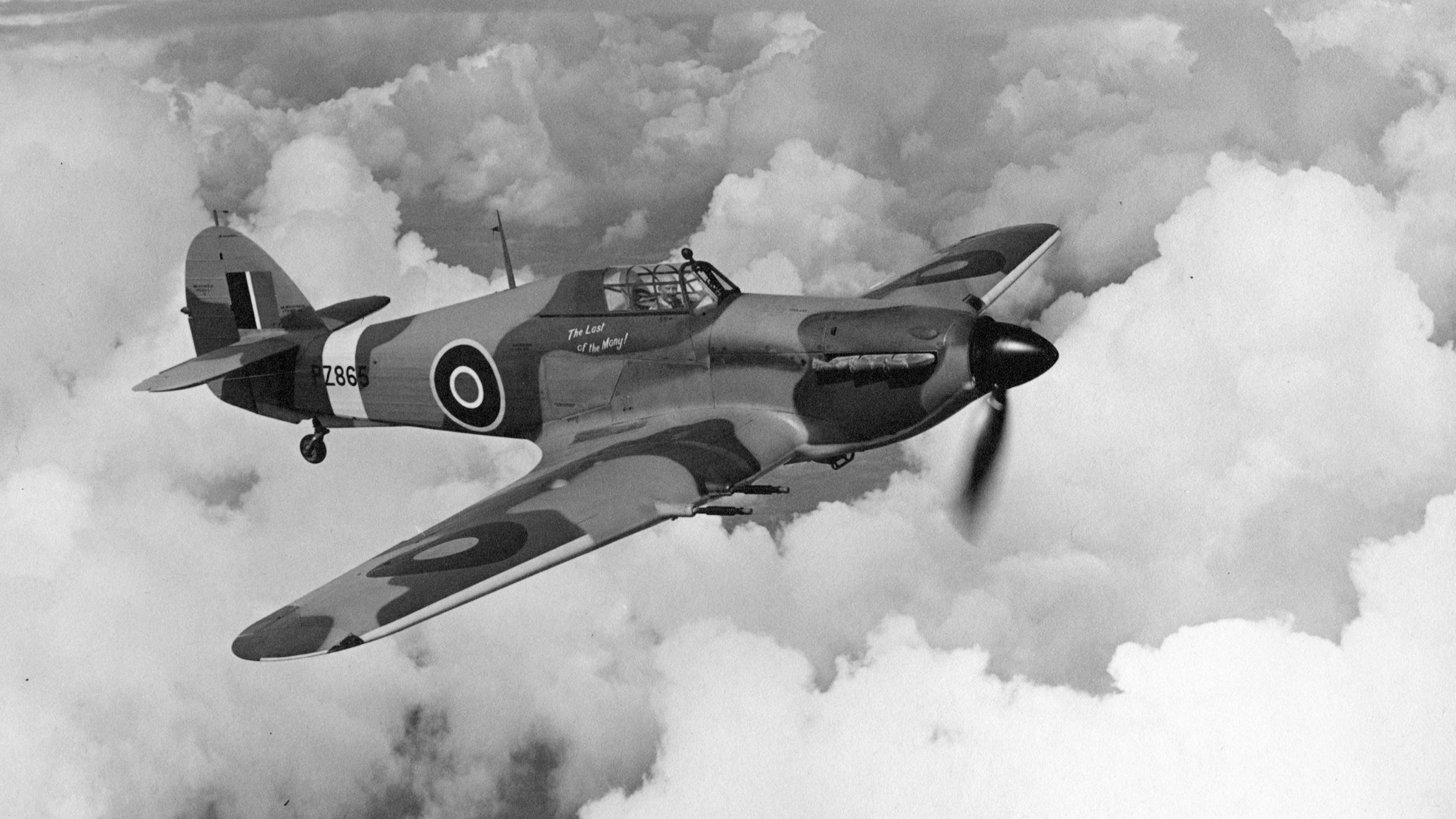 Британский одноместный истребитель Хоукер «Харрикейн» Mk II