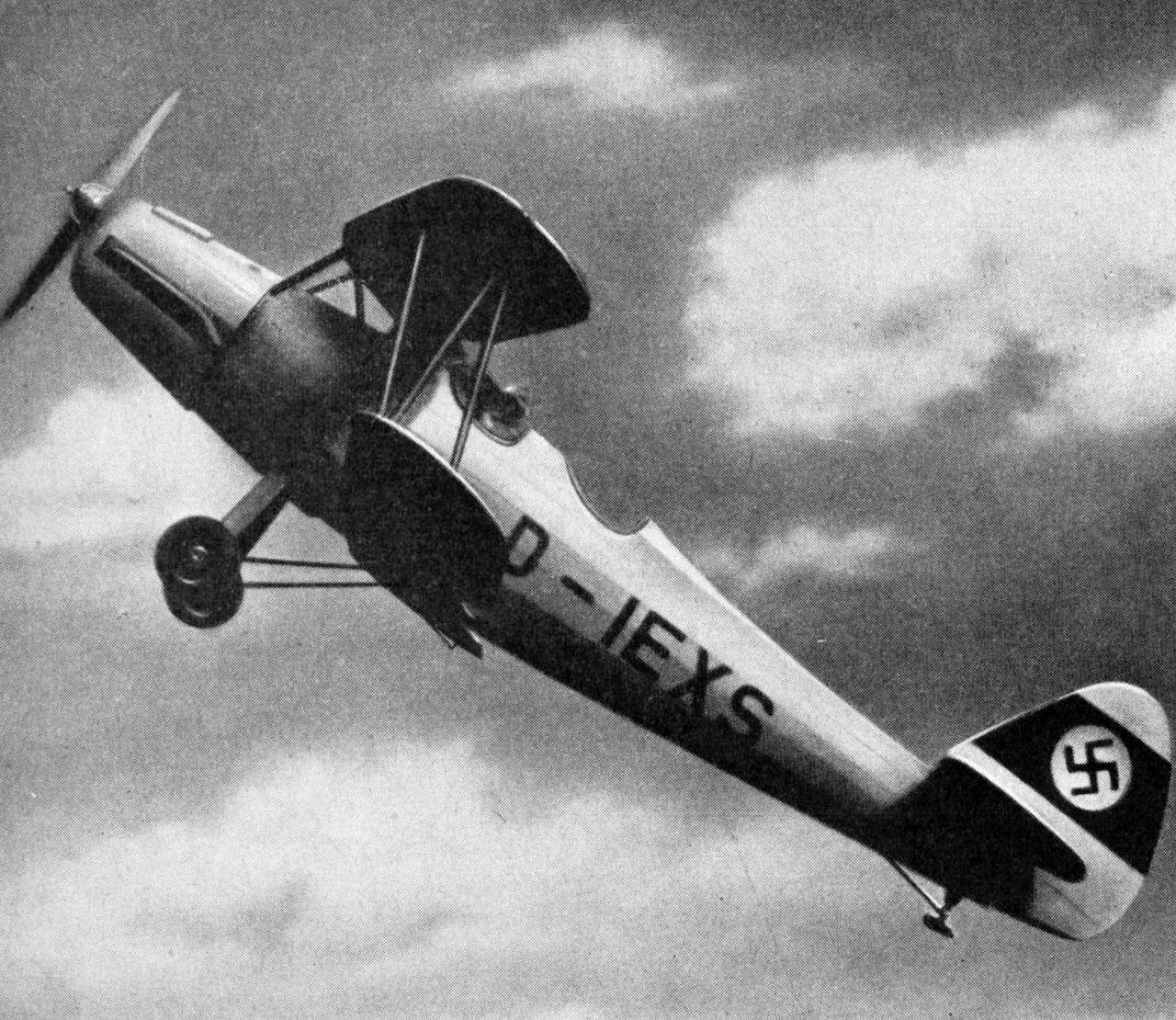 Самолет Гота Go 145 - учебный универсал