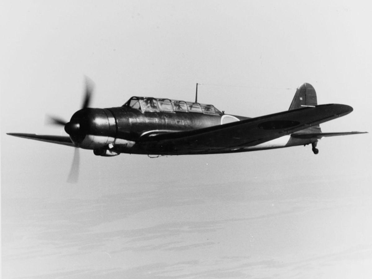 Торпедоносец-бомбардировщик корабельного базирования Накадзима B5N «Кейт»