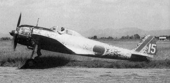 Легкий истребитель Накадзима Ki-43-11 KAI «Хаябуса»