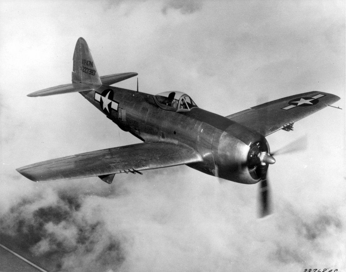 Рипаблик Р-47 «Тандерболт» - самый крупный истребитель Второй мировой войны