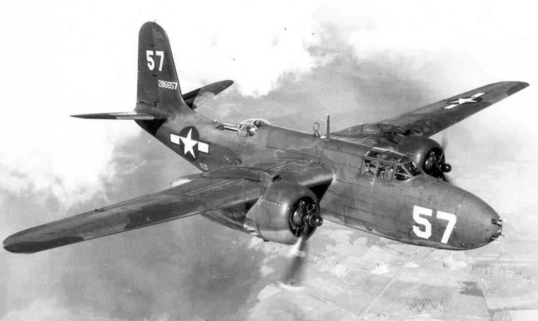 Бомбардировщики Дуглас А-20 «Хэвок»/«Бостон»
