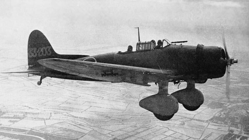 Аити D3A «Вэл» - пикирующий бомбардировщик корабельного базирования