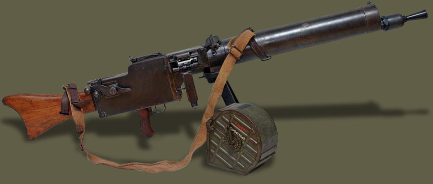 «Максим» с немецким акцентом - пулеметы MG 08/15
