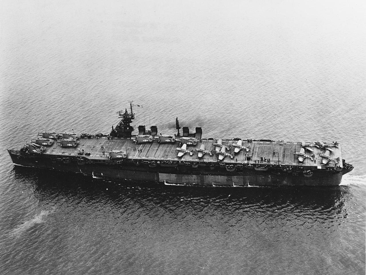 Американский легкий авианосец «Индипенденс» (CVL-22)