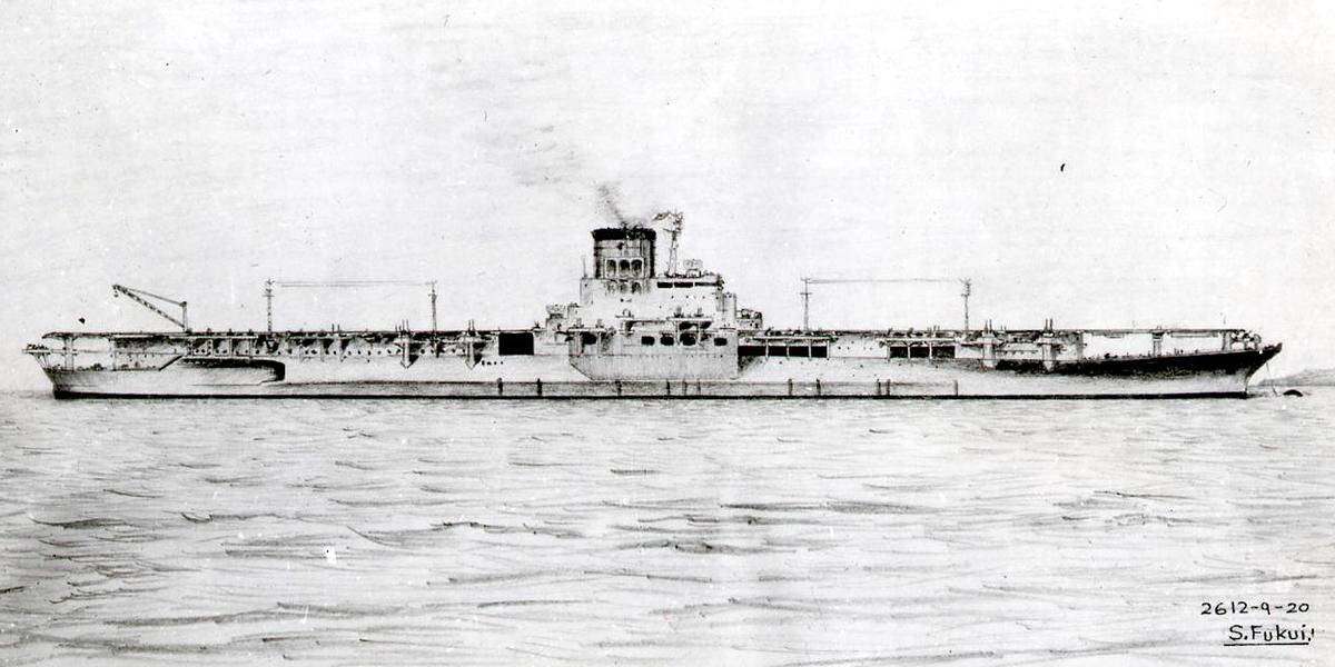 Японский тяжелый авианосец «Синано»