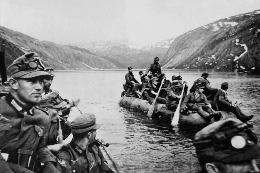Захват Дании и Норвегии (9 апреля — 10 июня 1940 г.)