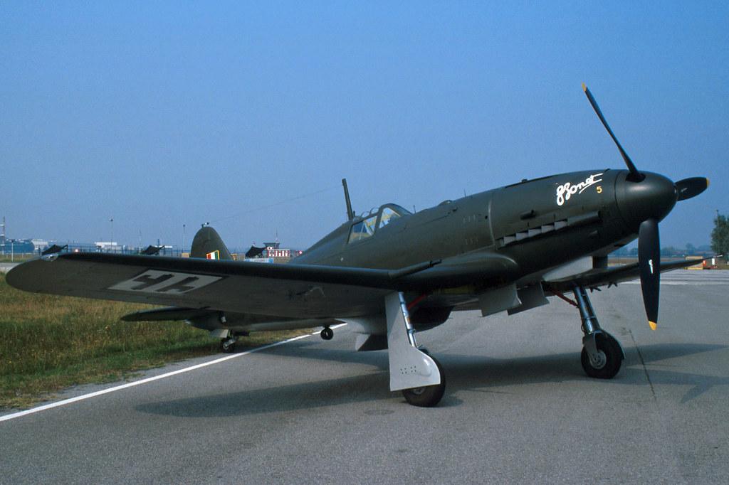 Истребитель ФИАТ G.55 «Чентауро»