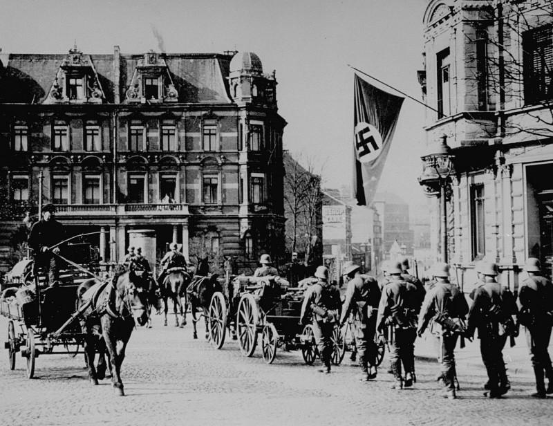 Германские войска вторгаются в Нидерланды и Бельгию (10-28 мая 1940 г.)