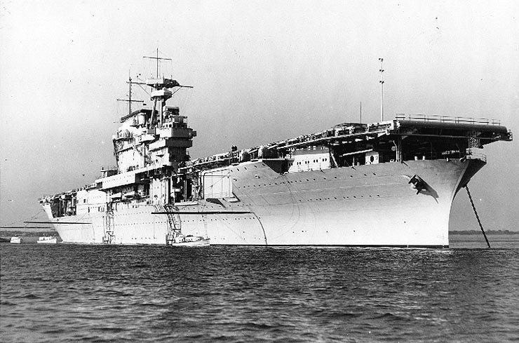 Американский авианосец «Йорктаун» (CV-5)