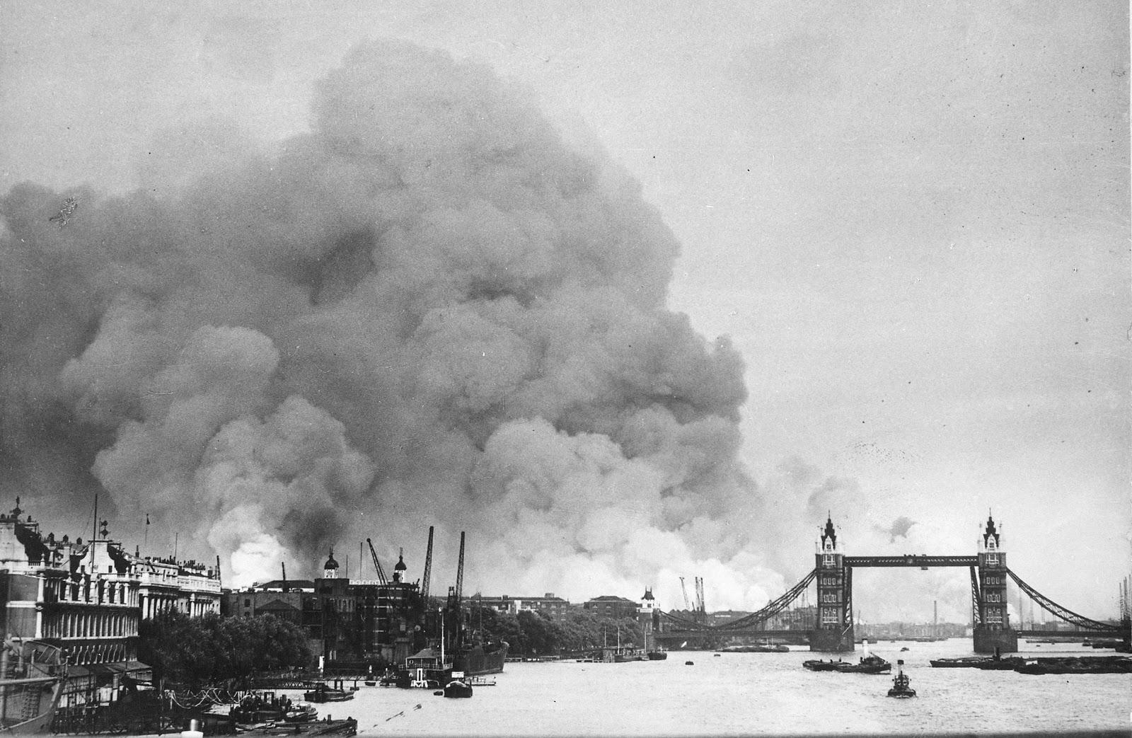 «Воздушная война» с Англией (10 июля 1940 г. — июль 1941 г.)