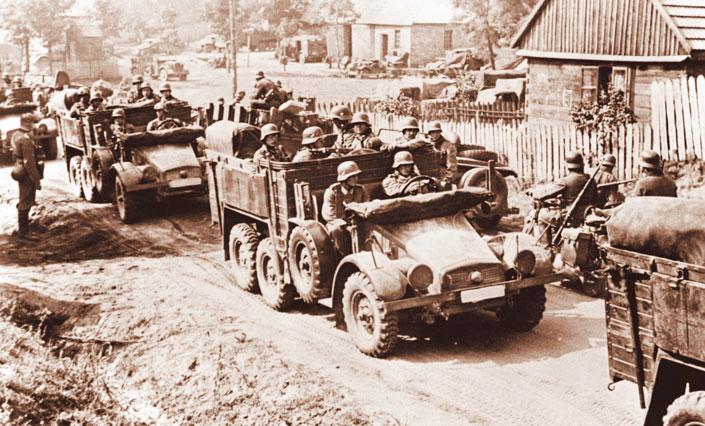 Вторжение в Польшу (1 сентября — 6 октября 1939 г.)