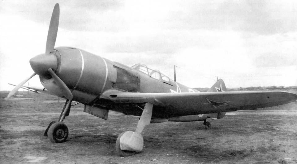 Ла-7 - советский одномоторный одноместный истребитель-моноплан