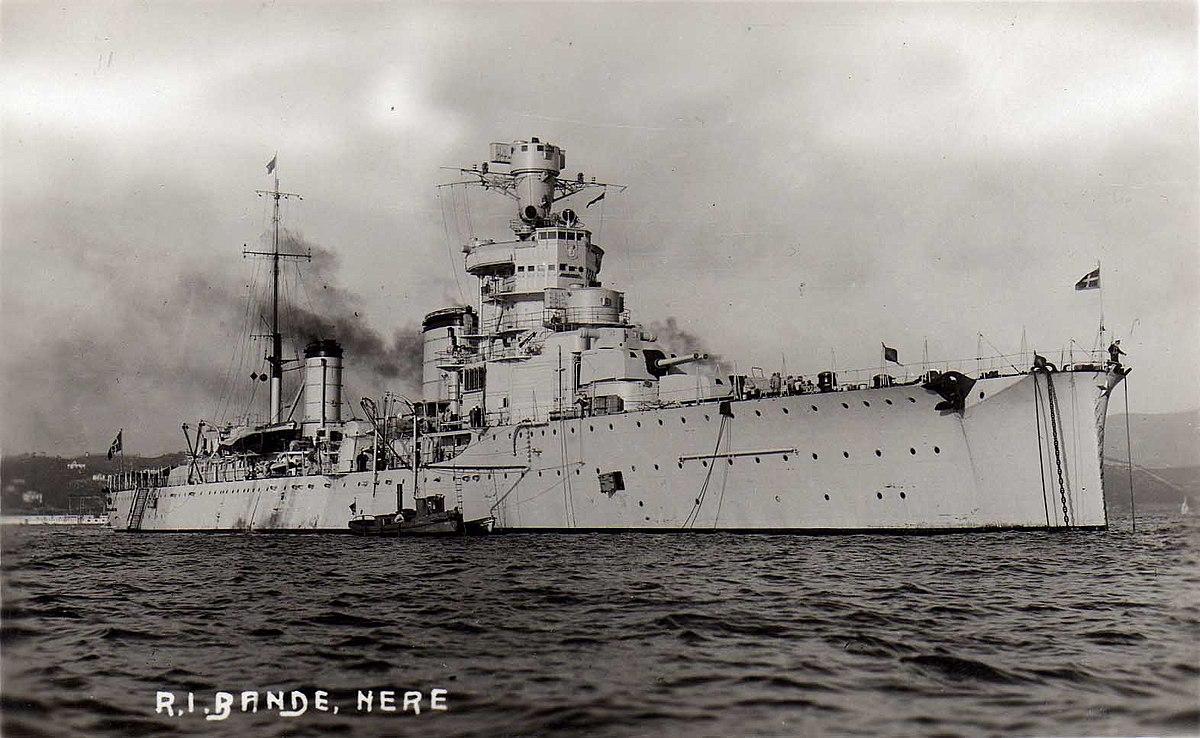 Итальянский легкий крейсер «Джованни делле Банде Нере»