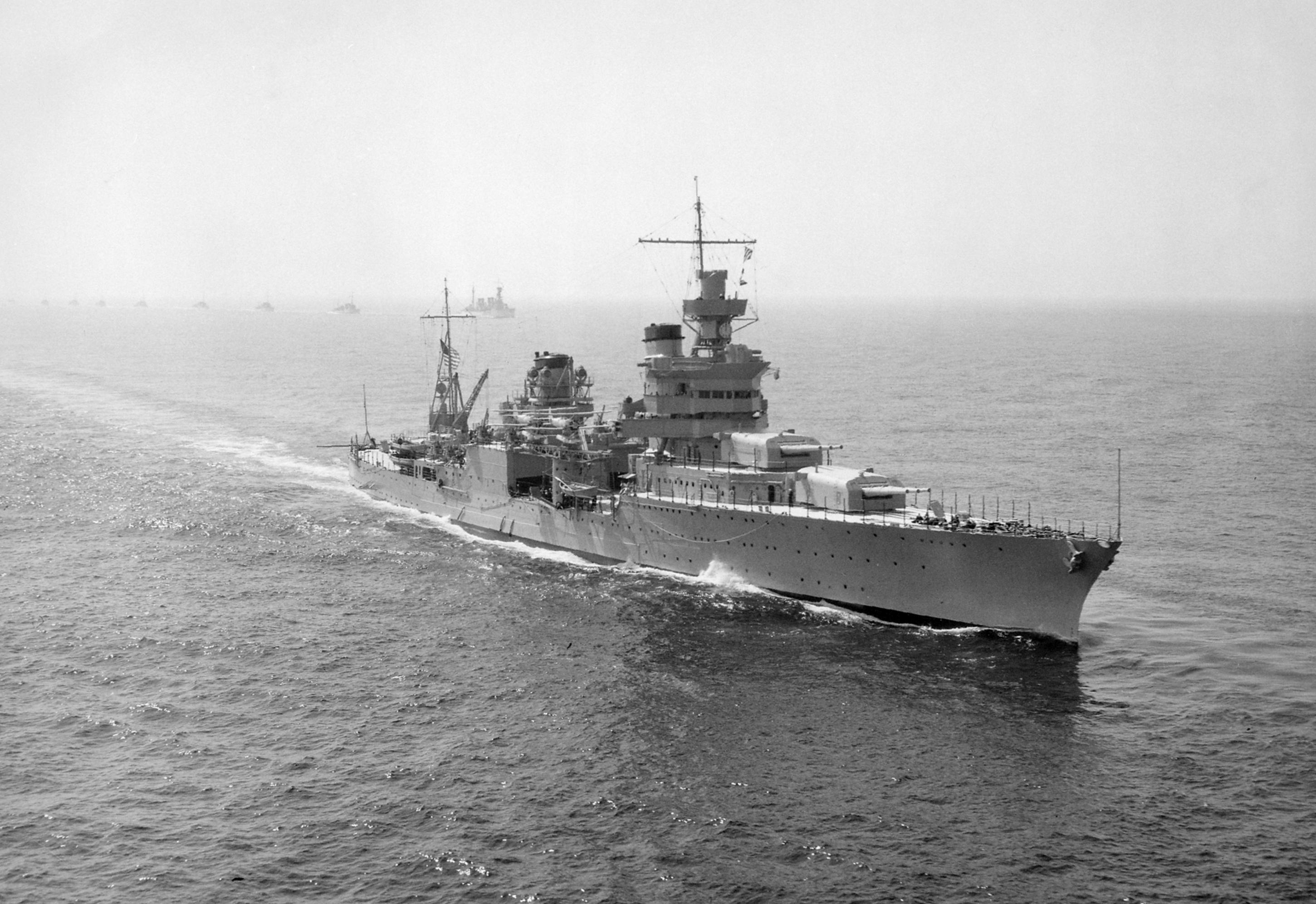 Американский крейсер «Индианаполис» (CA-35)