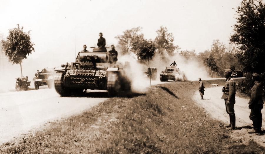 Последние мирные мгновения (22 июня 1941 г.)