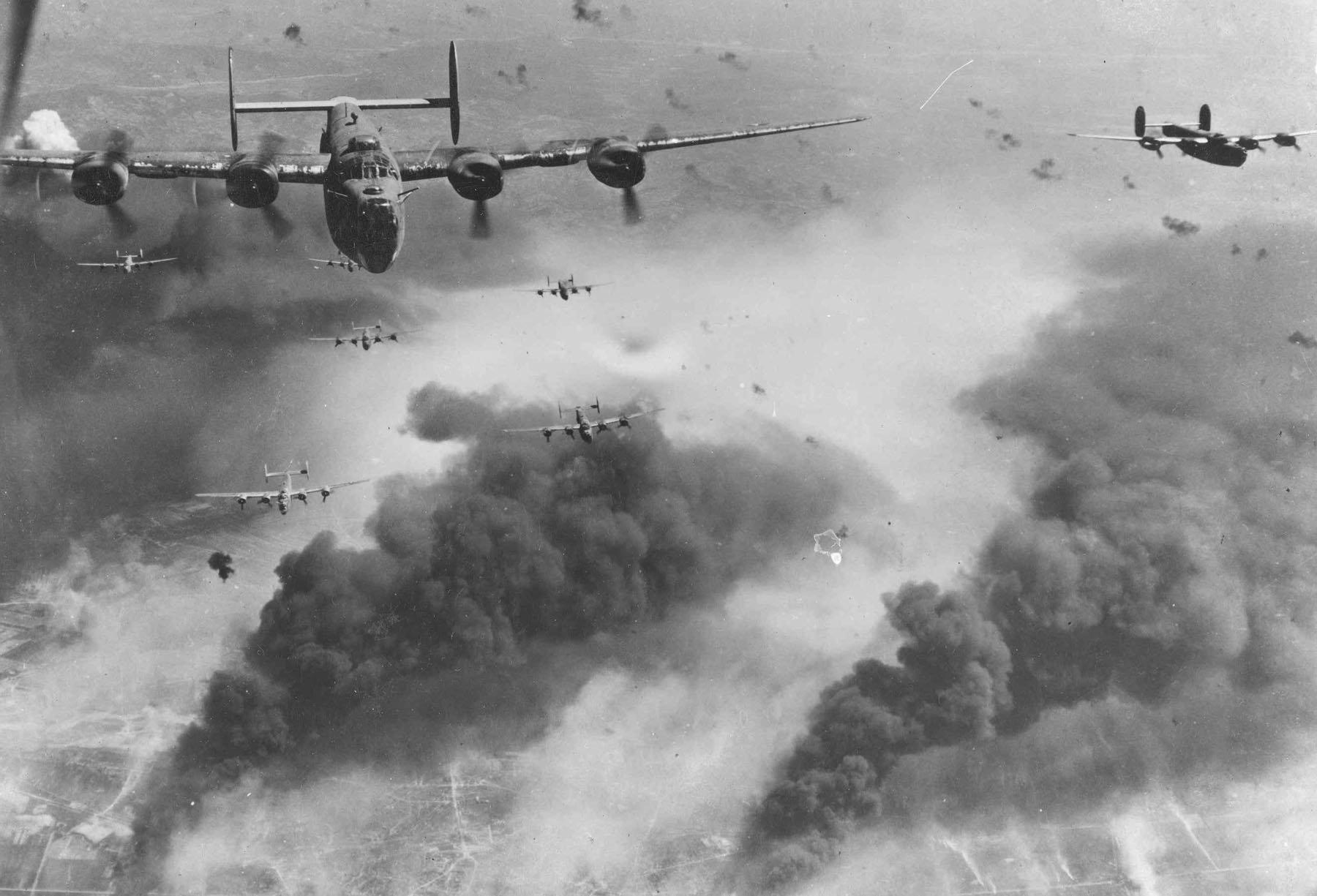 Стратегические бомбардировки Германии (5 марта 1943 г. — февраль 1945 г.)