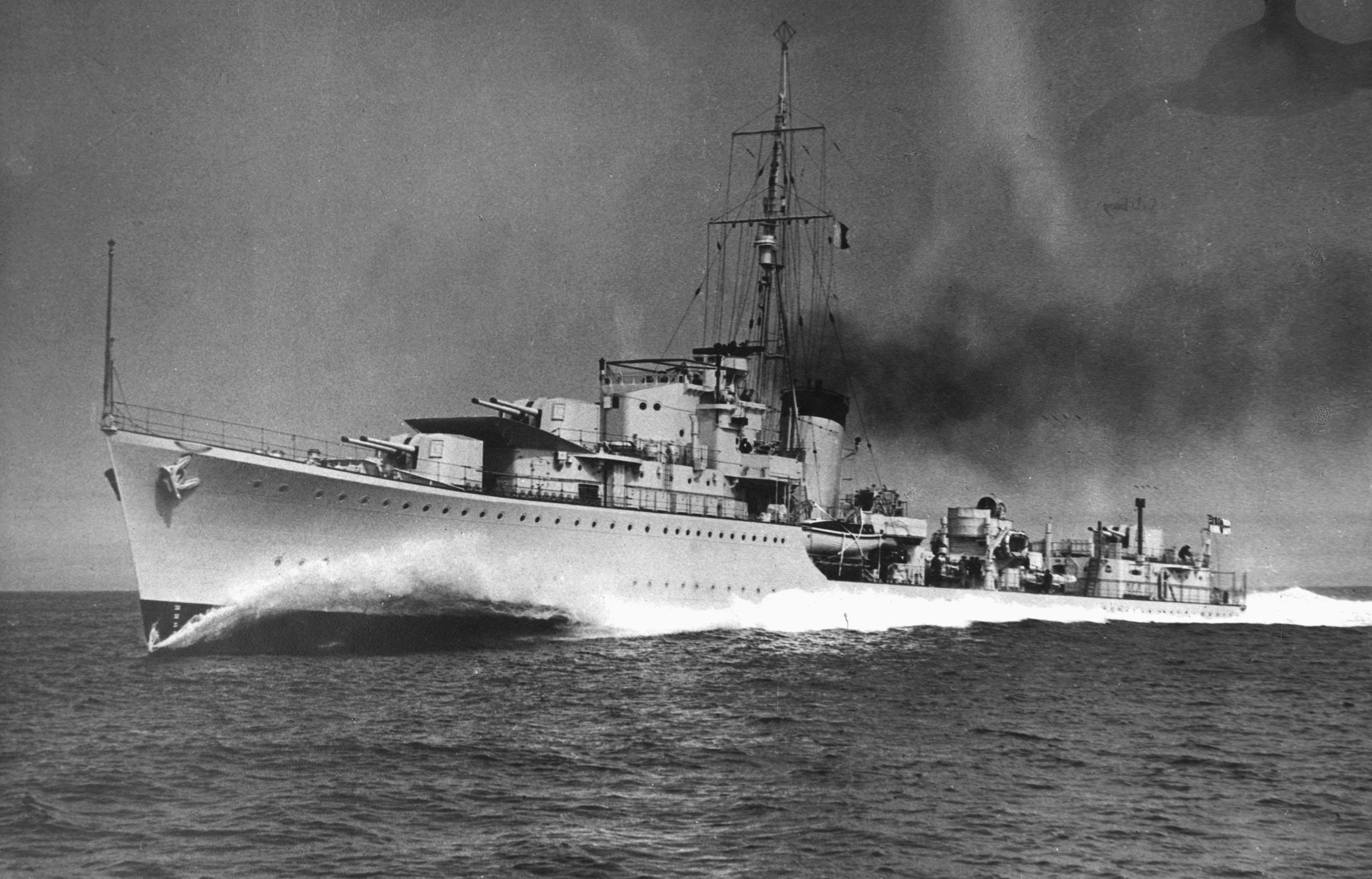 Британский эсминец «Келли»