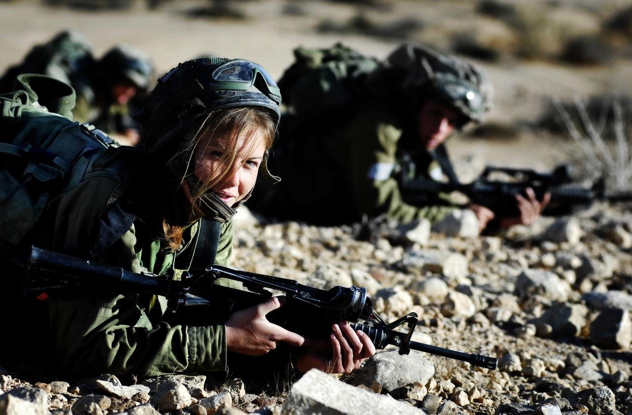 «Каракаль» - женский спецназ Израиля