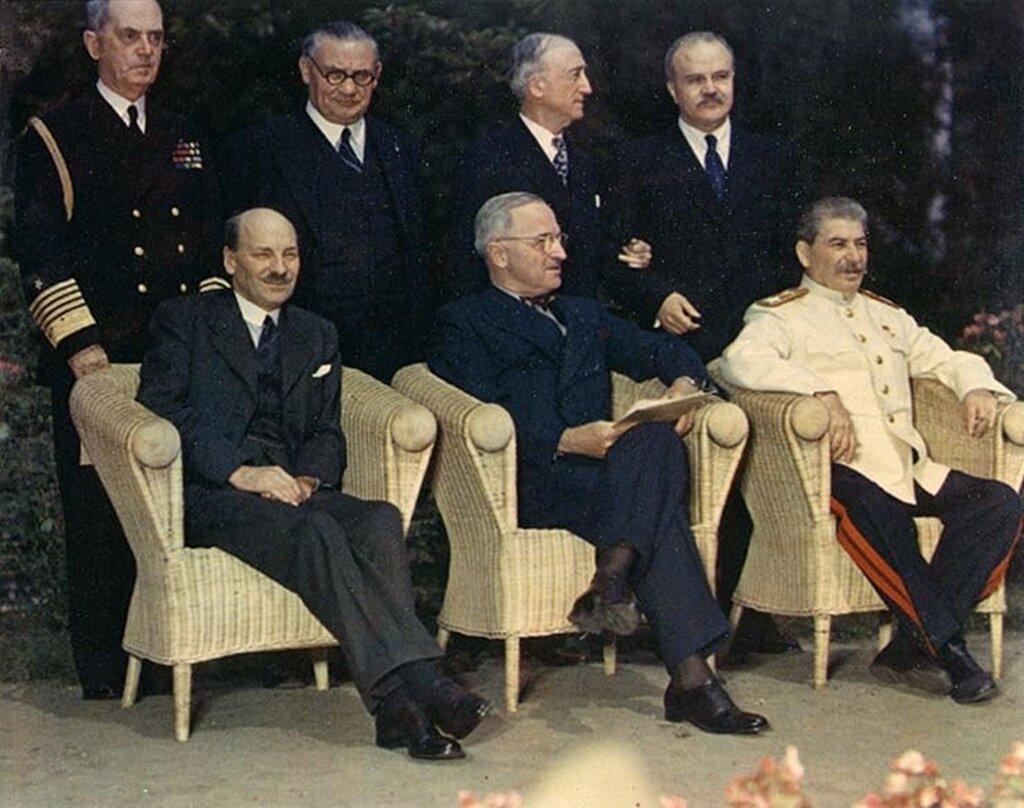 Берлинская (Потсдамская) конференция (17 июля — 2 августа 1945 г.)