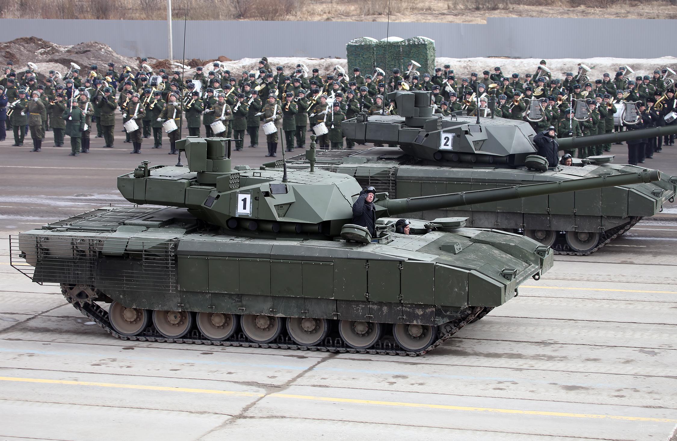 Т-14 «Армата» - танк XXI века